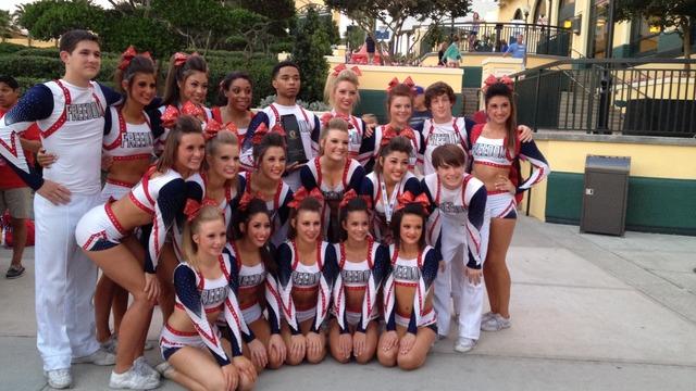 themselves Cheerleaders finger
