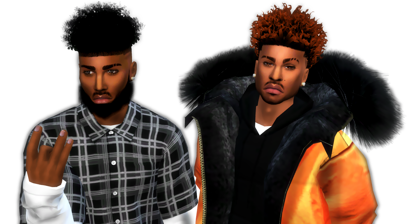 Black Male Hairstyles Sims 4 Best Hairstyles 2017