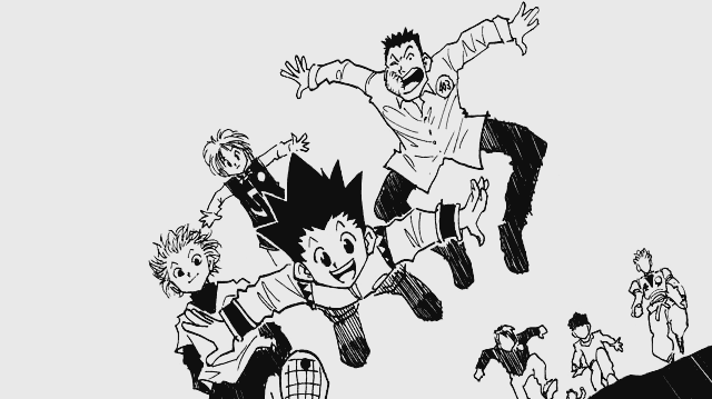 Image result for hunter x hunter manga