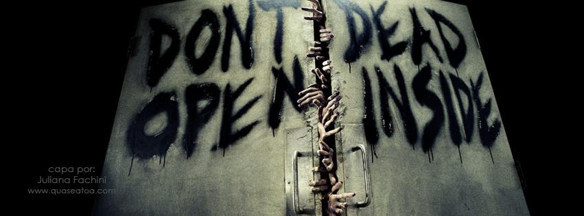 capa facebook zombies twd dead