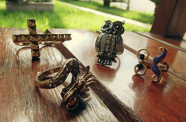anéis diferentes comprar