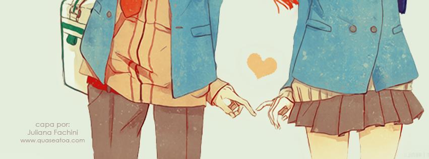 capa facebook casal fofo desenho