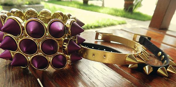 pulseiras de spikes