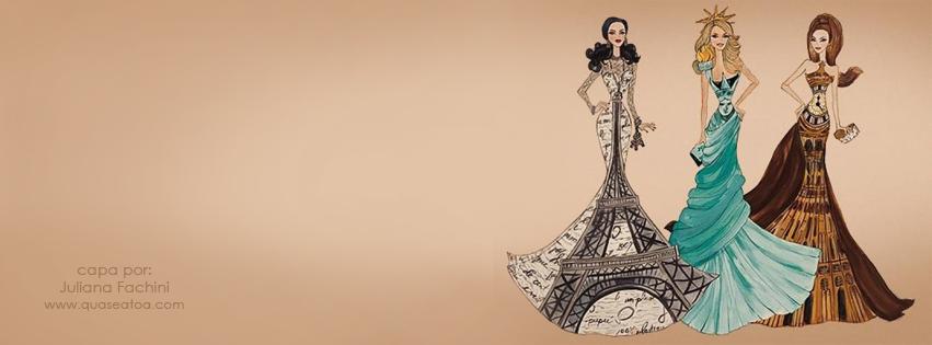 capa facebook moda desenho fashion