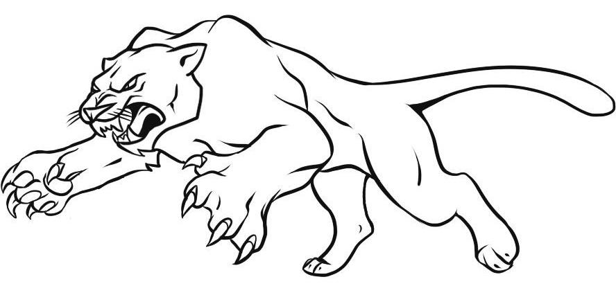 Как нарисовать пантера