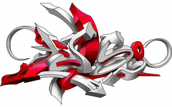 Luis Graffiti 3d Imagui