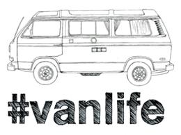#vanlife logo