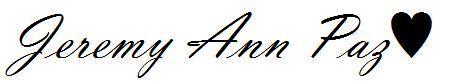 Jeremy Ann Chavez Paz♥