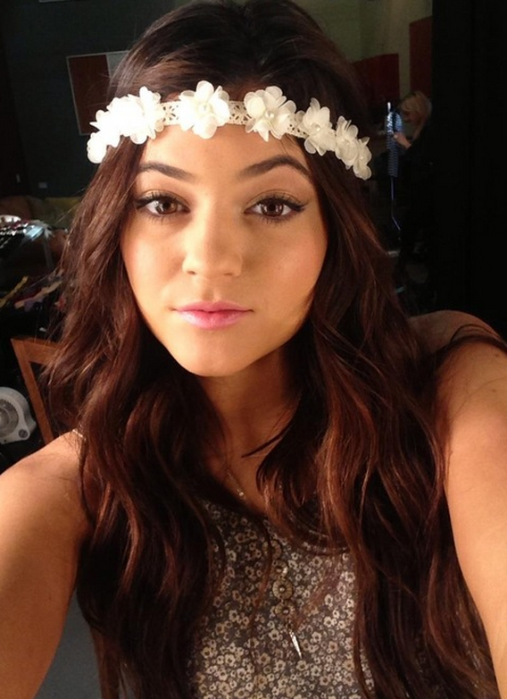 flower headband tumblr girl - photo #16