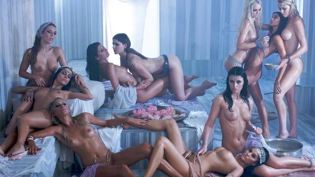 Amazing fantasy orgy