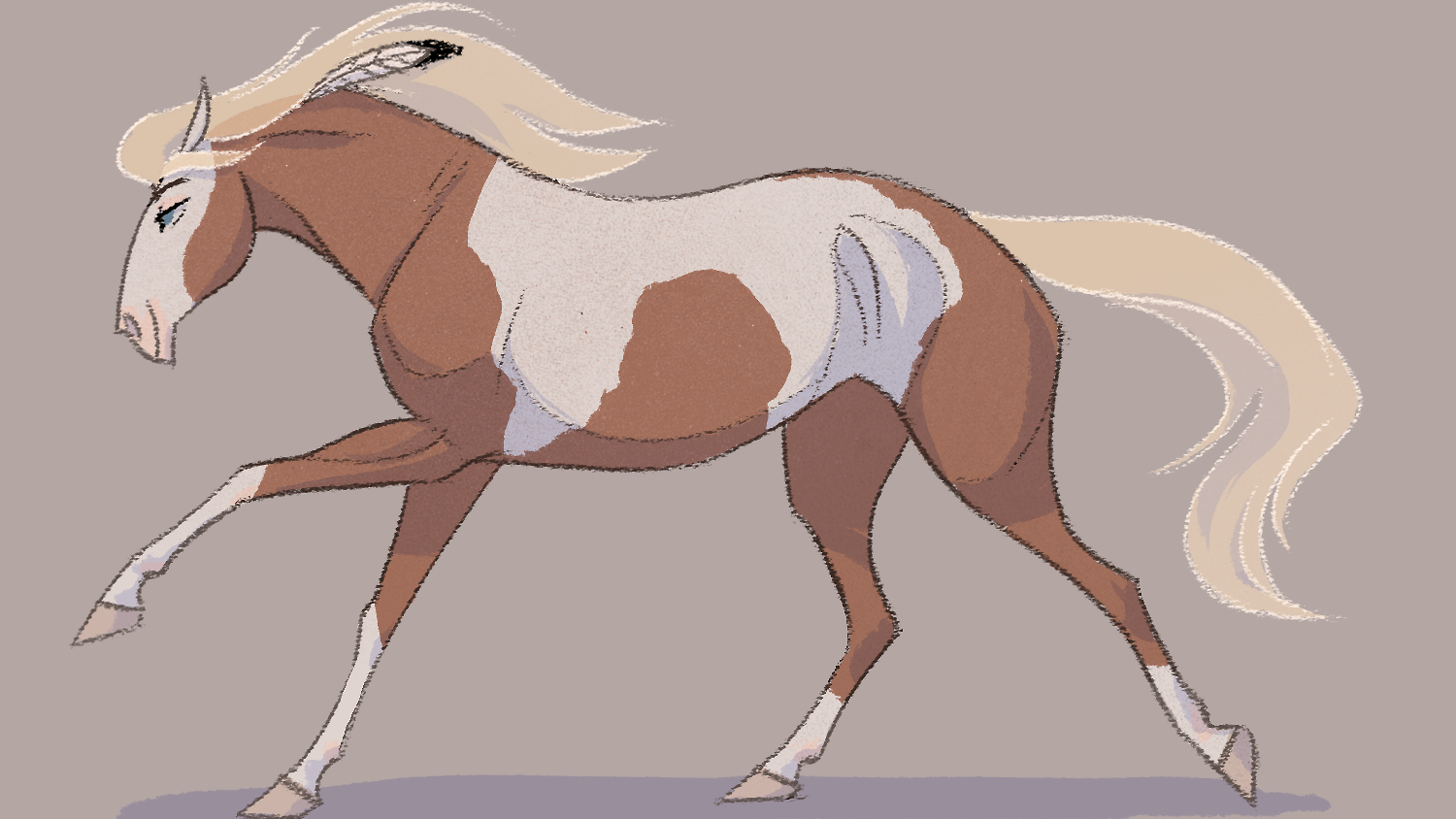Drawing Horse On Tumblr