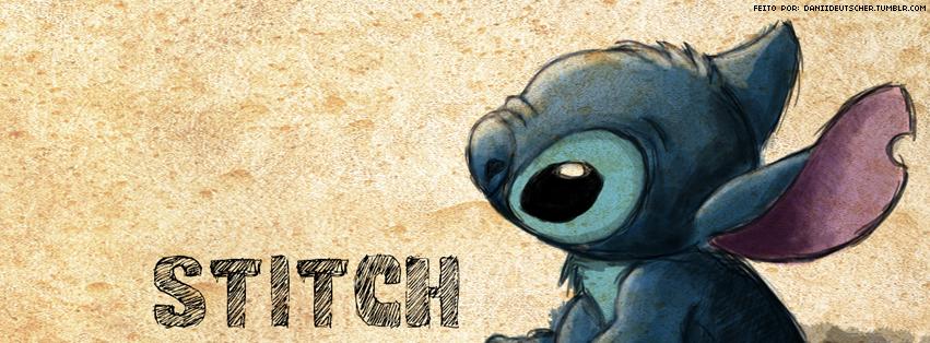 Stitch Facebook Cover - Cover Dudes