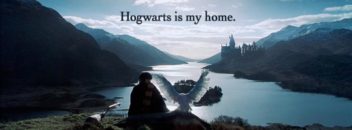 Hogwarts is my home...