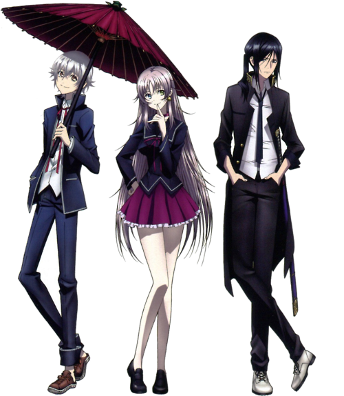 K Anime Characters Shiro : K project