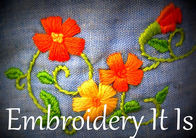 Embroidery It Is