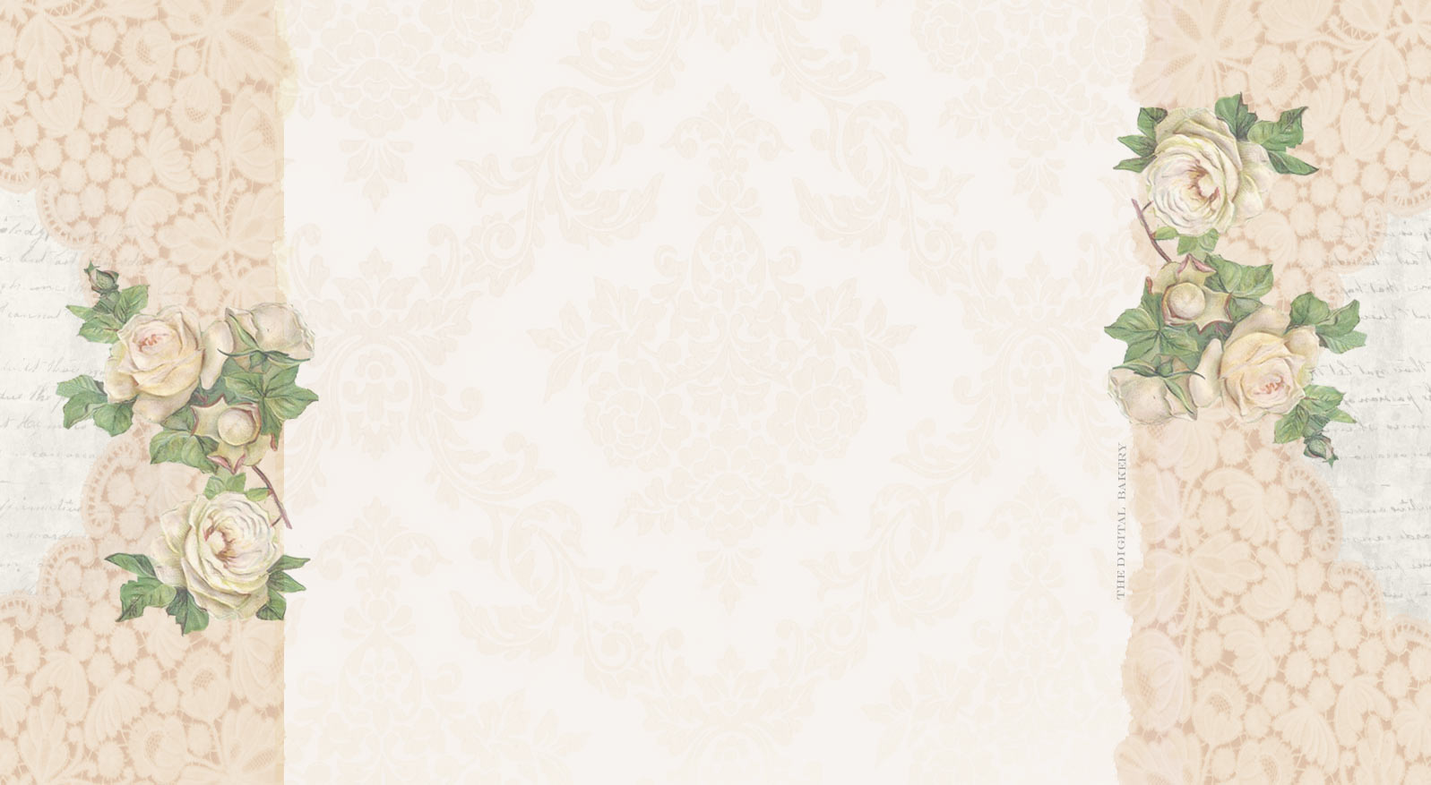White Vintage Pattern Backgrounds