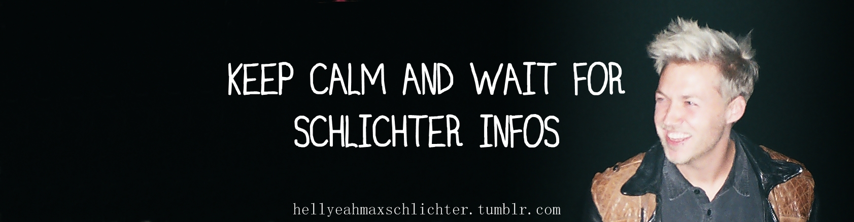 Keep Calm Wait For Schlichter Infos