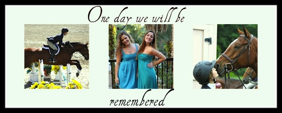 ΩOne day we will be remembered Ω