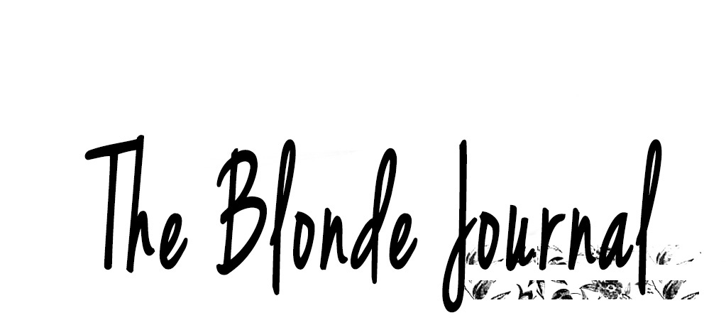 The Blonde Journal
