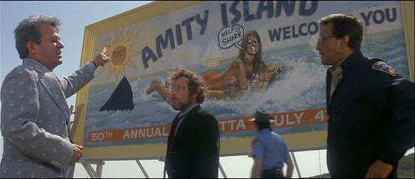 Image result for Amity island sick vandalism