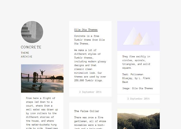 Olle Ota Themes | Free Tumblr Themes