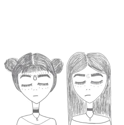 Картинки девушек для распечатки черно белые