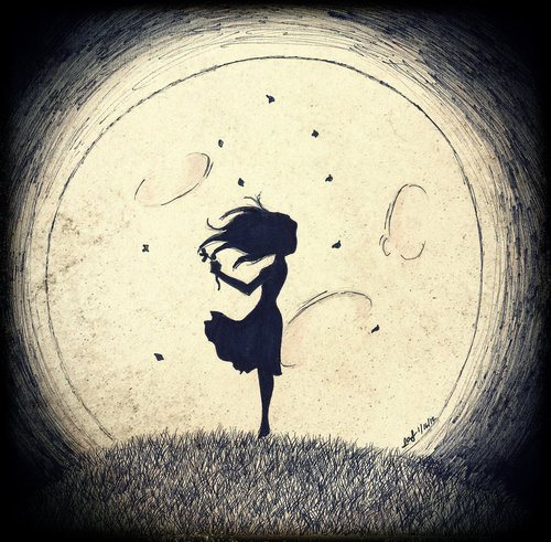 Image result for moon girl tumblr