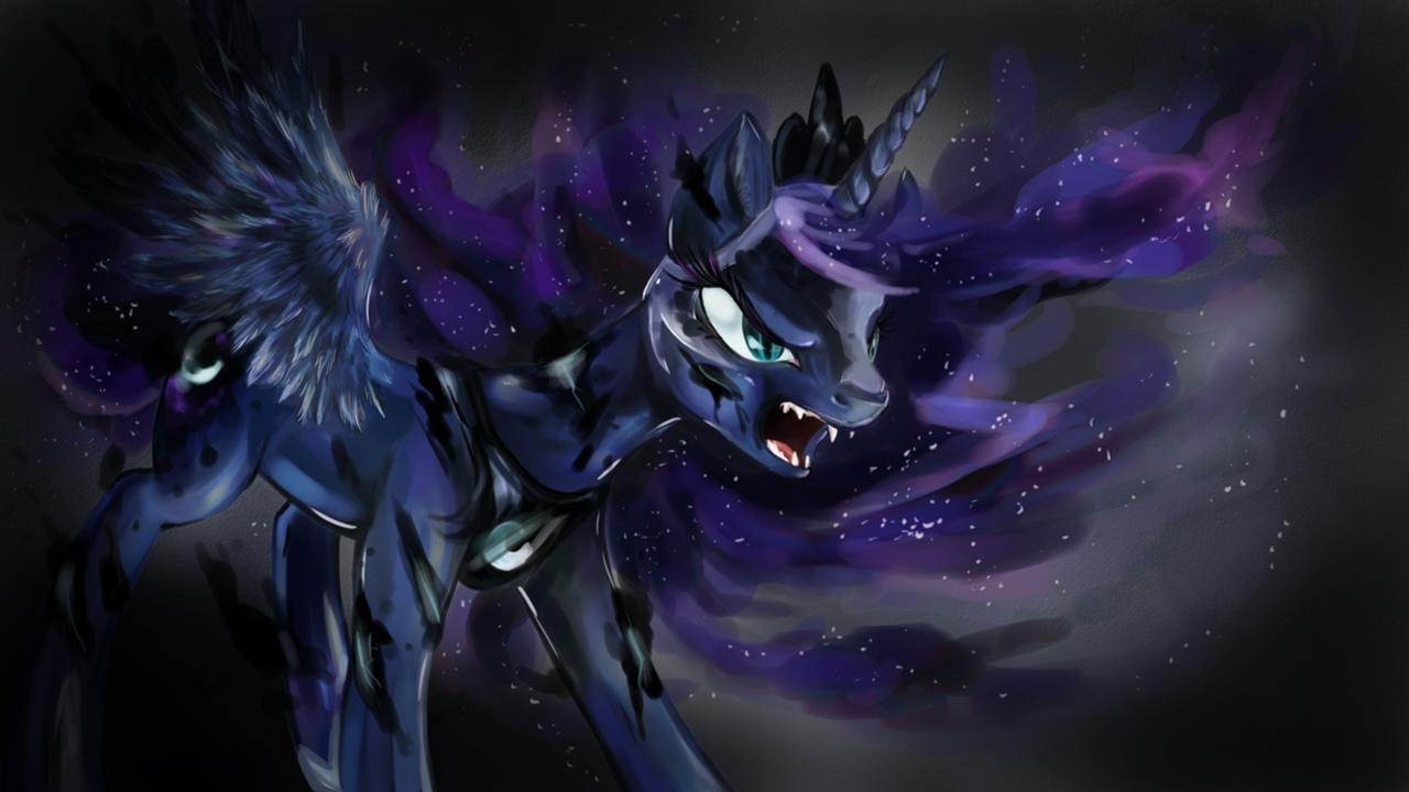 Download Wallpaper Horse Magic - tumblr_static_1280px-princess_luna__transforming_into_nightmare_moon__wallpaper_by_artist-dreampaw  Image_65341.jpg