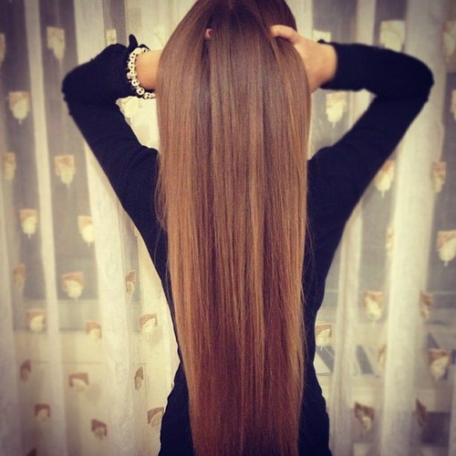 Long Brown Hair Tumblr