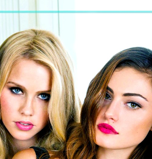 Phoebe Tonkin and claire holt tumblr