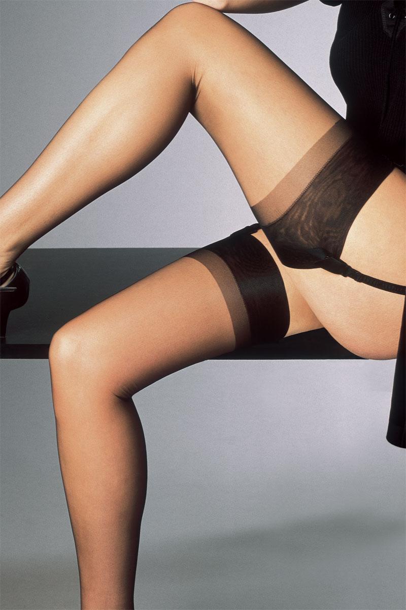 Ladies in stocking elle