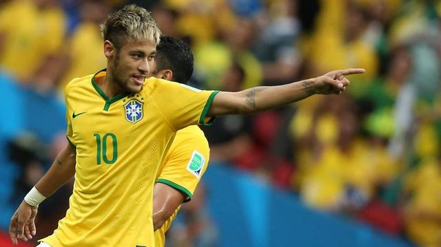 Neymar menjadi Man of The Match