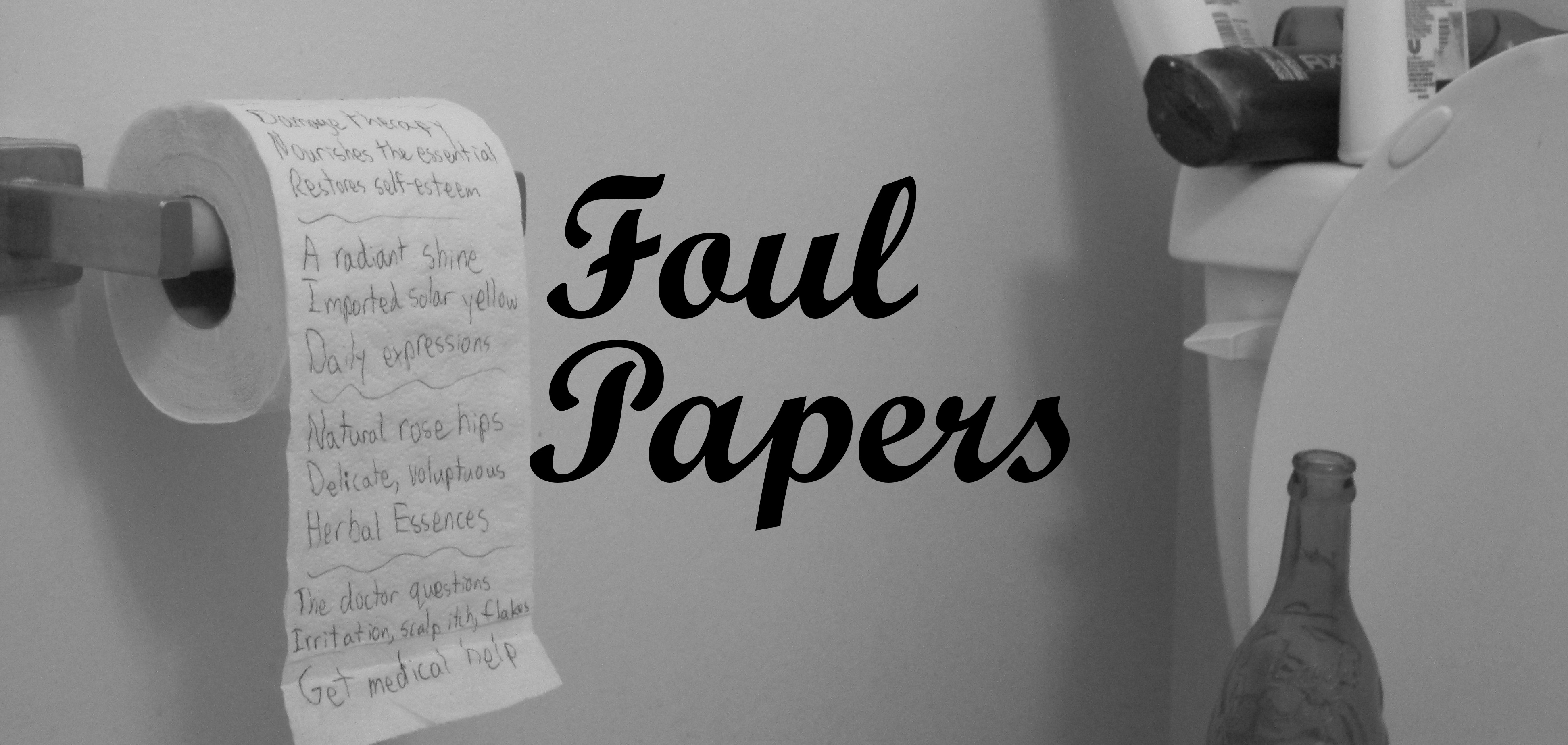 Foul Papers