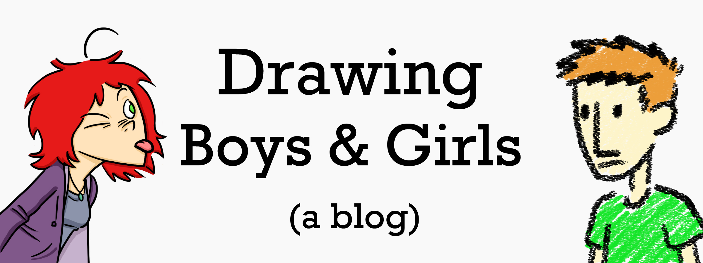 Drawing Boys and Girls