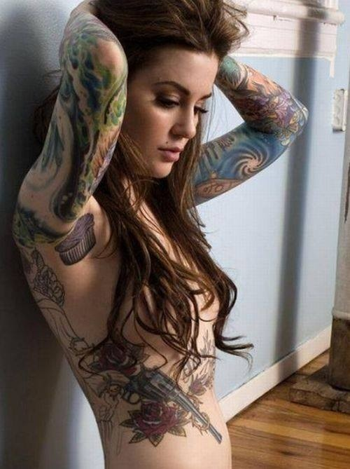 Hot girls with tattoo sleeves