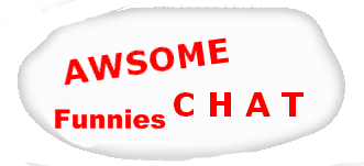 AwsomeChat Funnies Logo