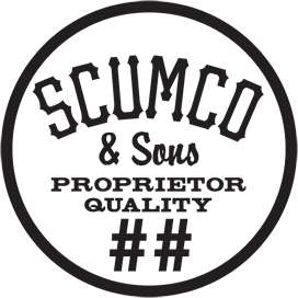 Scumco and Sons Wooden Skateboards