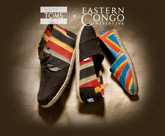 Introducing TOMS x Eastern Congo Initiative