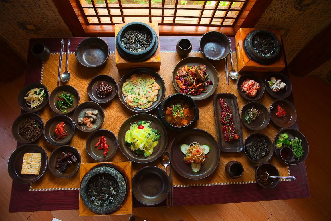 Korea bang for Authentic korean cuisine