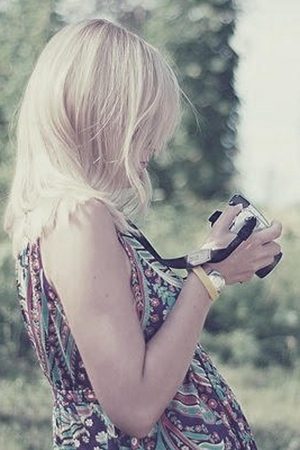 Девушки блондинки с каре фото вк на аву