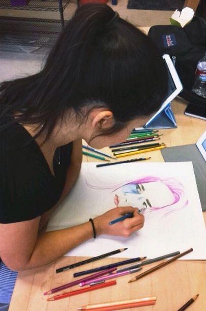 An artists inspiration board  An artists insp...