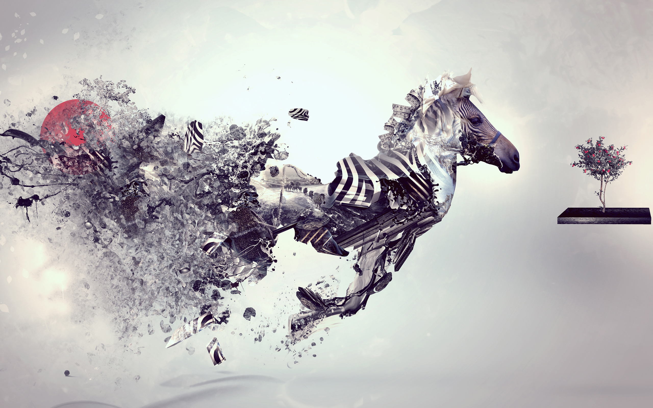 Good Wallpaper Horse Colorful - tumblr_static_digital-art-animal-wallpaper  Image_488160.jpg