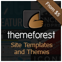 Themeforest - Site Templates and Themes