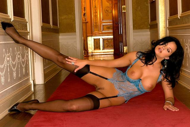 Playboy playmates stockings heels