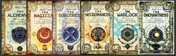 Image result for the immortal nicholas flamel books