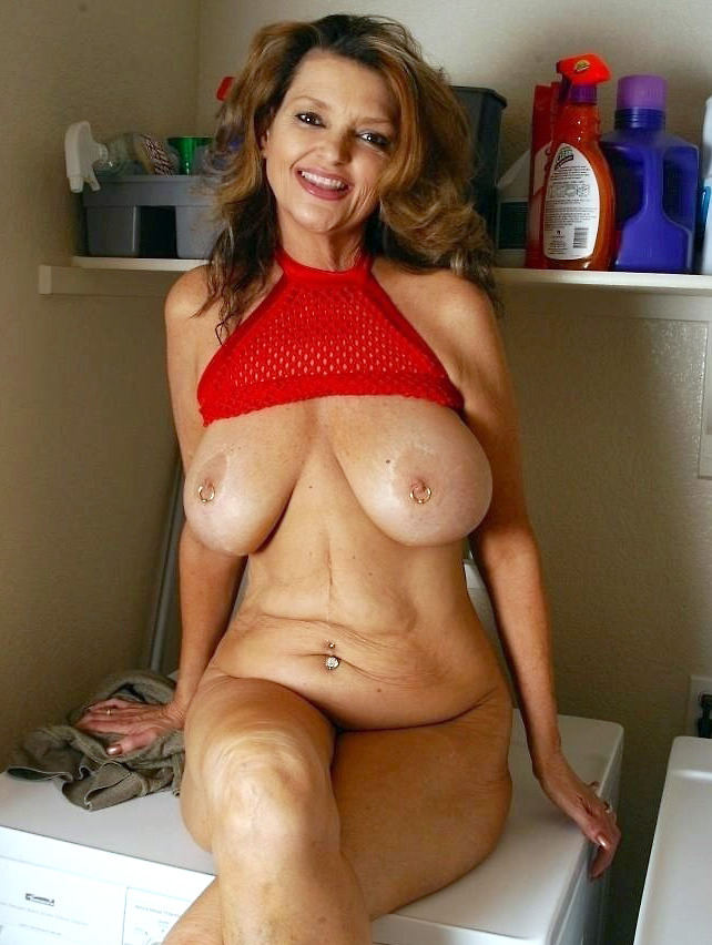 Mature woman with big tits