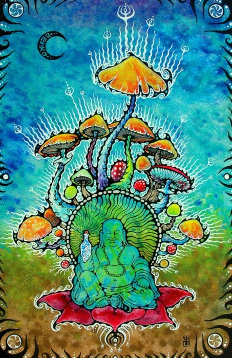 the gallery for gt psychedelic buddha wallpapers