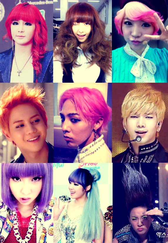 KPOP HAIRSTYLES - Korean hairstyle on tumblr