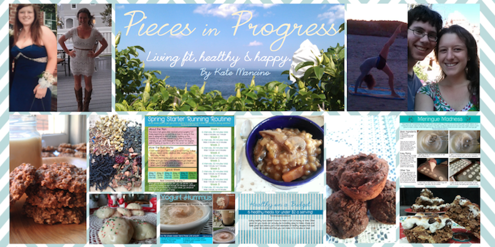 Pieces in Progress: Blogging my way fit.