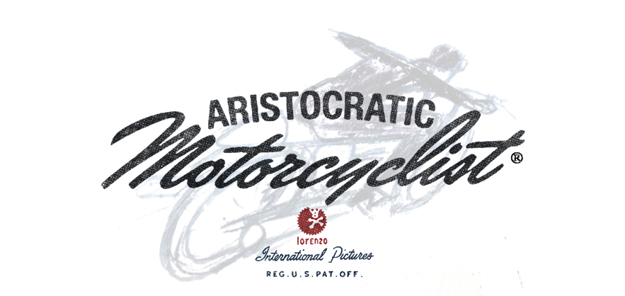 aristocratic motorcyclist